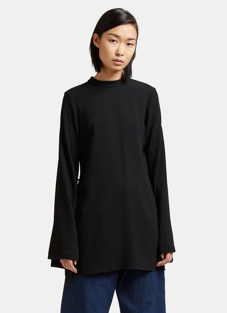 Purify Flared Sleeve Top