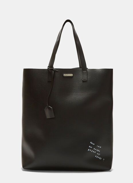 Large Printed Tote Bag