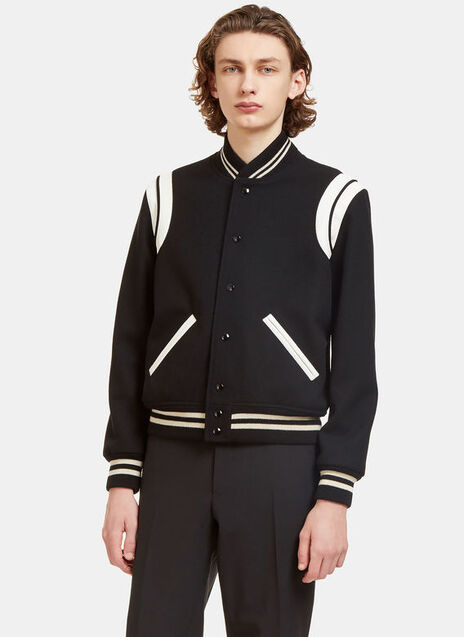 Two Band Teddy Bomber Jacket