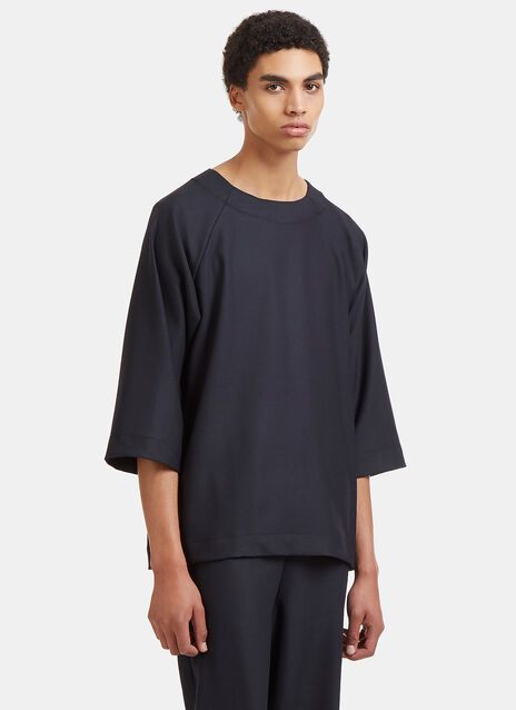Oversized Raglan Sleeved Top