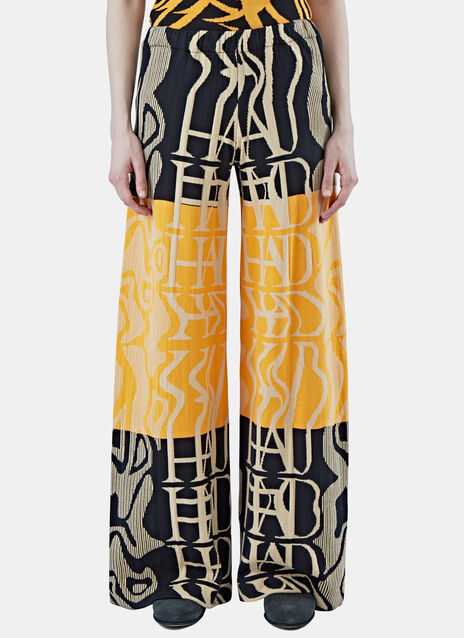 Tribai Wide Leg Knit Pants