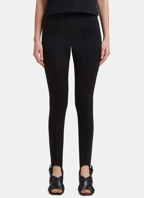 Central Pleat Jodhpur Stirrup Leggings