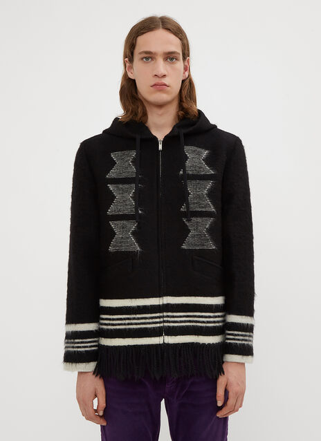 Saint Laurent Blanket Jacket