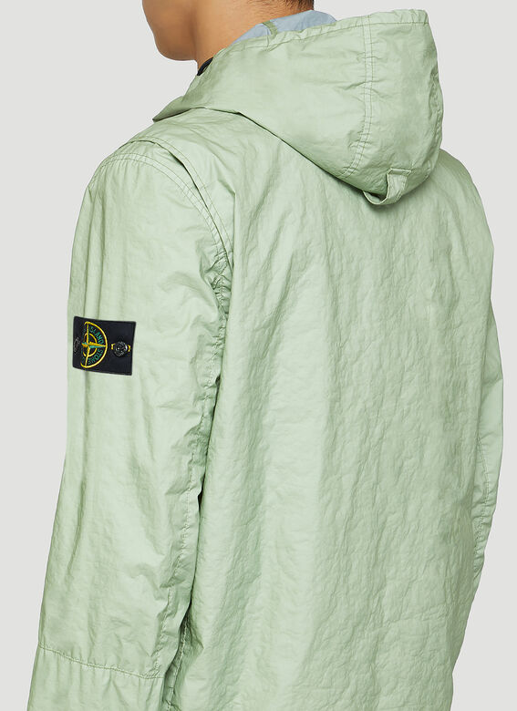 Stone Island Crinkle Hooded Jacket 5