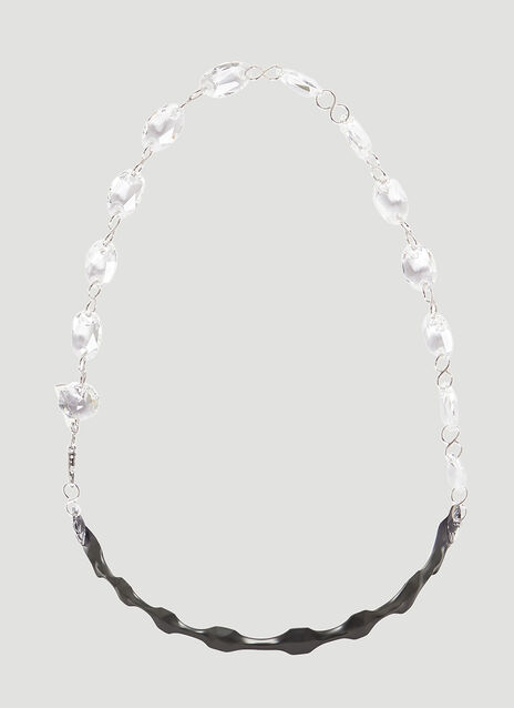 Maison Margiela Shrink Wrap Chandelier Necklace
