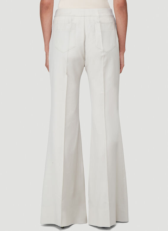 Kwaidan Editions FLARED SUIT TROUSERS 4