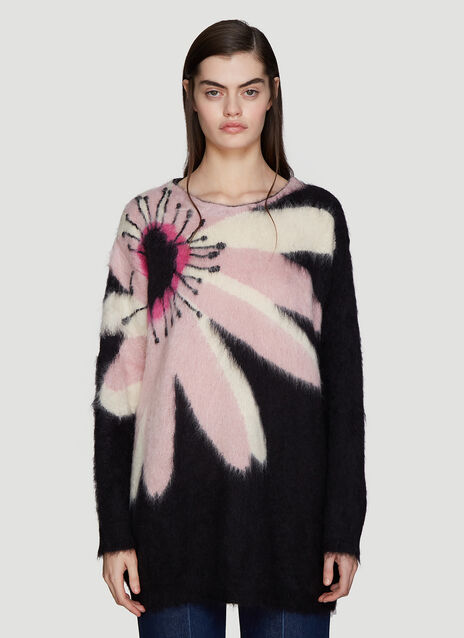 Valentino Flower Sweater