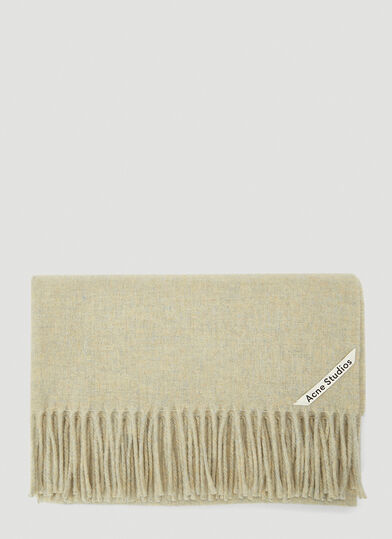 아크네 스튜디오 Acne Studios Canada New Scarf in Grey