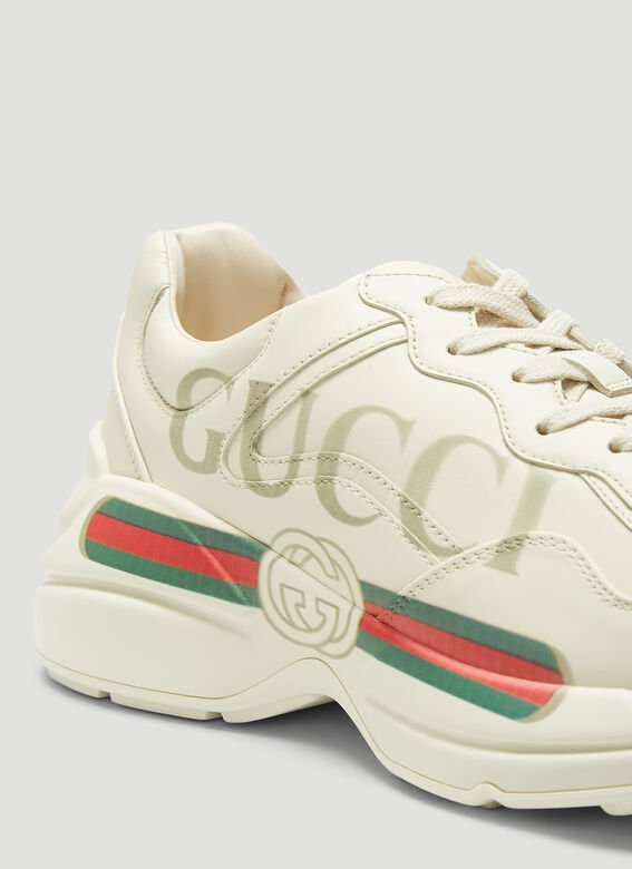 Gucci SNEAKER LEATHER, R.S RHYTON 5