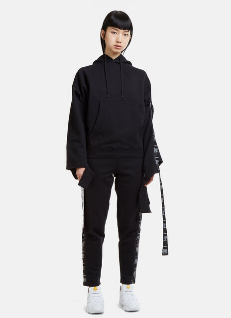 Vetements Wash Separately Deconstructed Hooded Sweatshirt