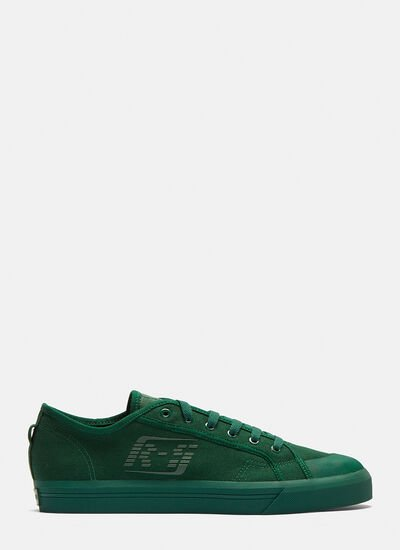 Adidas By Raf Simons Spirit Low Asymmetrical Sneakers