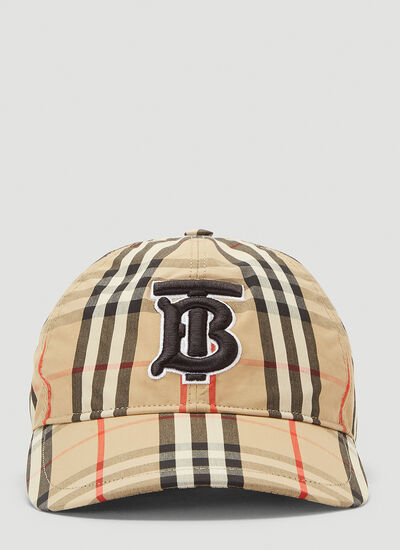 Burberry Classic Check Baseball Hat