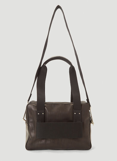 릭 오웬스 Rick Owens Trolley Weekend Bag in Black