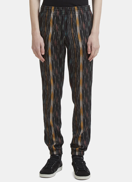 Saint Laurent Woven Elasticated Jogging Pants