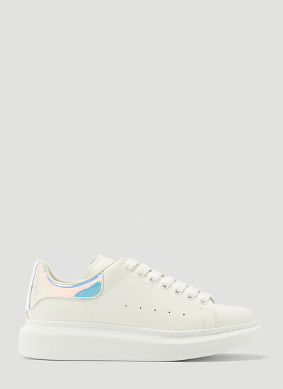 Alexander McQueen Iridescent Leather Sneakers
