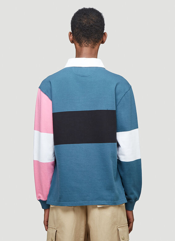 Aries Colour-Blocked Rugby Shirt 4