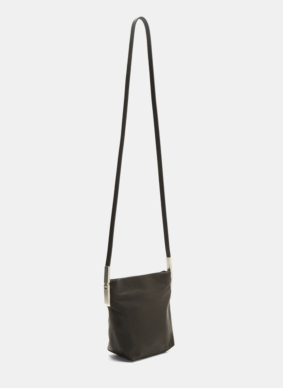 Rick Owens Small Leather Adri Bag