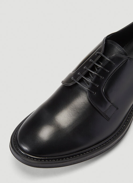 Aiezen Lace-Up Derby Shoes 5