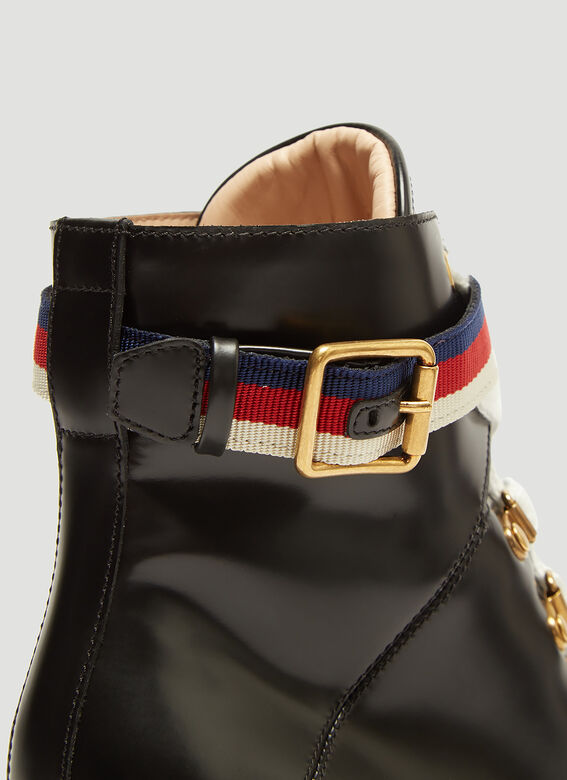 Gucci Trecking Heeled Ankle Boot 5