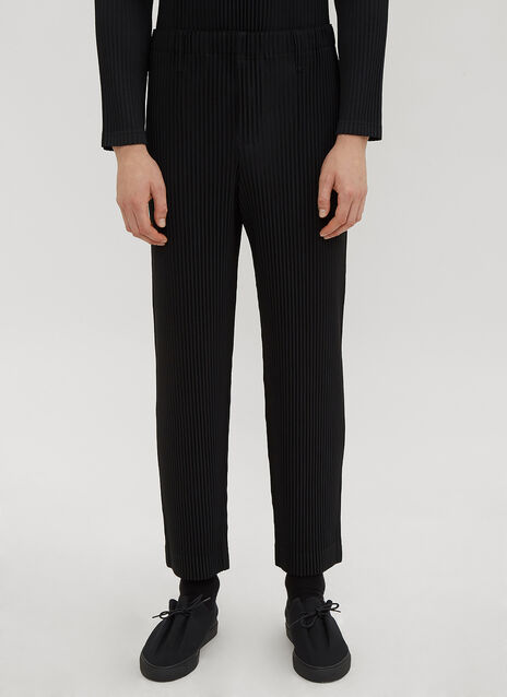 Homme Plissé Issey Miyake Ribbed Pants