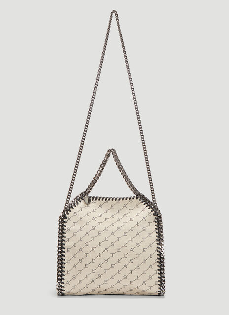 Stella McCartney Woven Falabella Chain Mini Bag