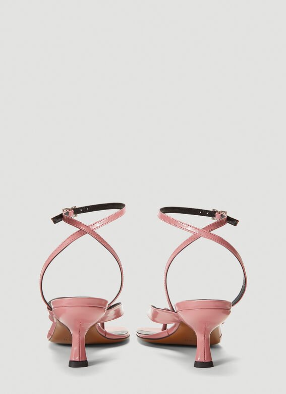 BY FAR Mindy Heeled Sandals 4