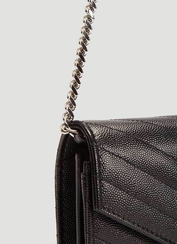Saint Laurent YSL C.WALL(153Y)MONO GRAIN DE