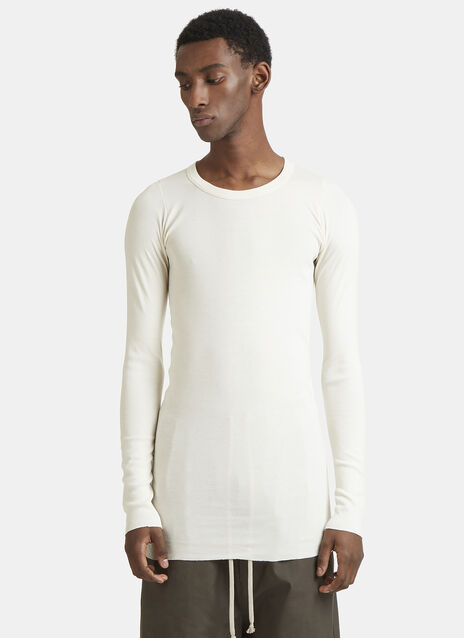 Rick Owens Long Sleeve Rib T-Shirt
