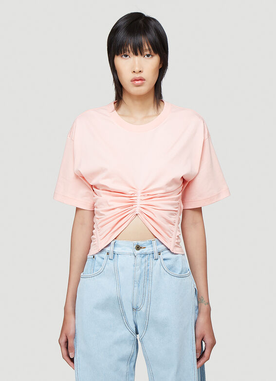 Y/Project Ruched Corset T-Shirt 1