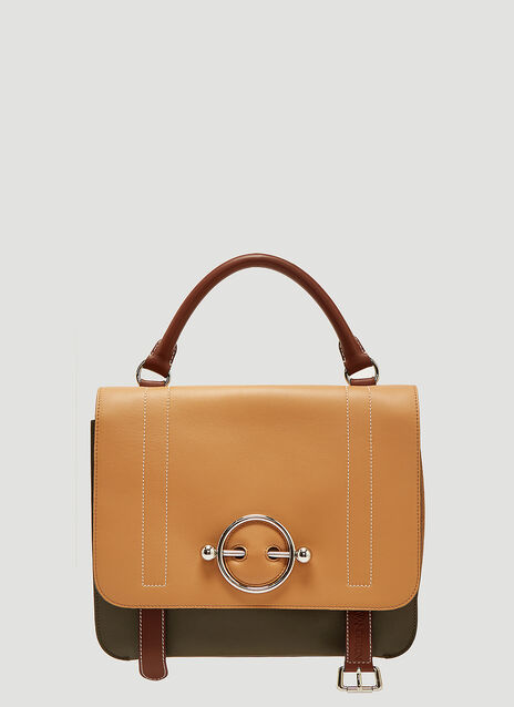 JW Anderson Bi-Colour Disc Bag