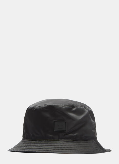 Acne Studios Buk Face Satin Bucket Hat
