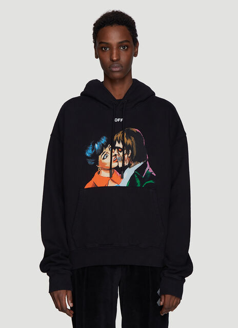 Off-White Kiss Hooded Sweatshirt