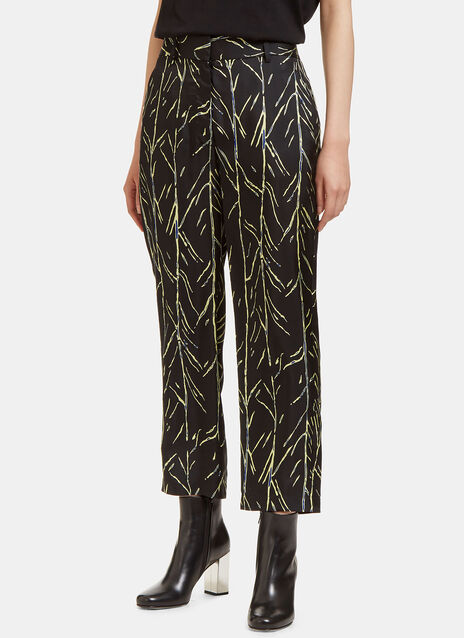 Proenza Schouler Printed Cropped Pants