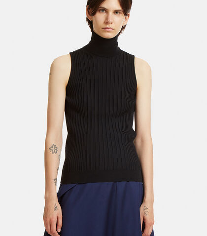 Ribbed Knit Vest Top