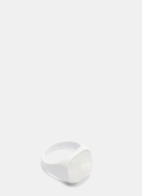 Maison Margiela Painted Resin Signet Ring