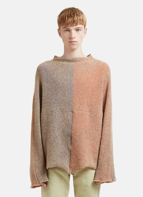 Eckhaus Latta Patched Dolman Sweater