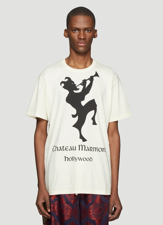 2656df9a2ff5 Chateau Marmont T-Shirt in Cream