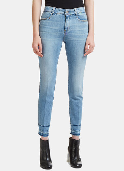 Stella McCartney High-Waisted Skinny Fit Jeans