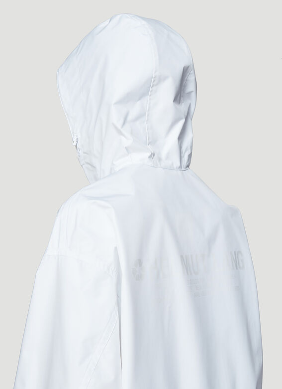 bd2378430 Helmut Lang By Parley For The Oceans Recycled Hooded Nylon Raincoat