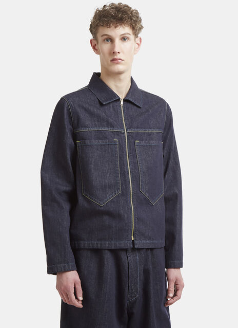 Marni Long Pocket Denim Jacket
