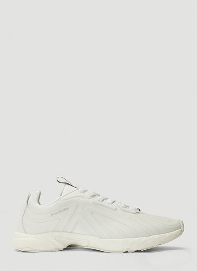 Acne Studios Buzz Faux-Leather Sneakers