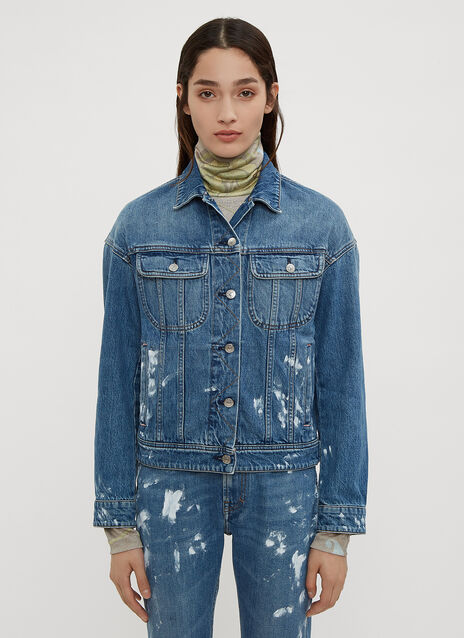 Acne Studios Painted Vintage Denim Jacket