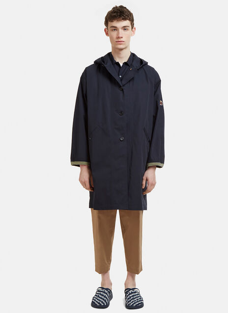 Marni Hooded Patch Jacket