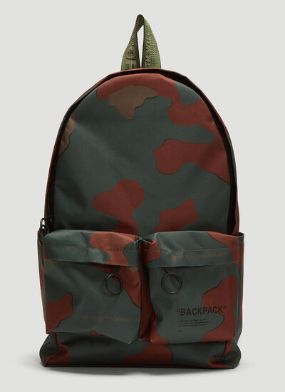 Off-White Camo Backpack