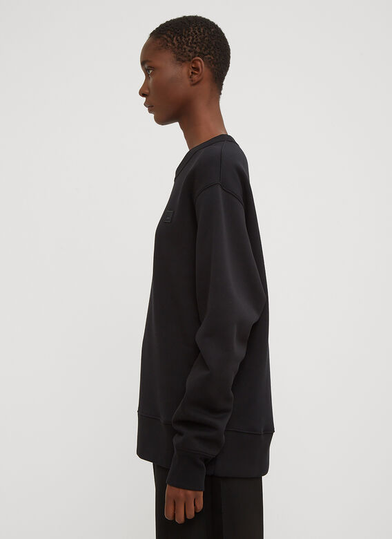 Acne Studios Fairview Oversized Face Embroidered Sweater 3