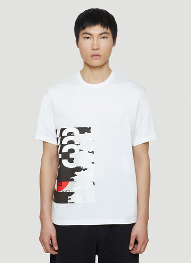 Y-3 Graphic T-Shirt in White