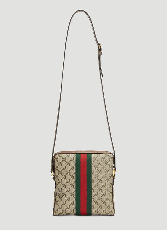 99fd9e533a0 Gucci Small Ophidia Messenger Bag in Beige