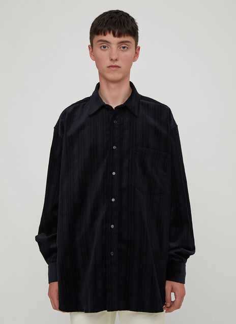 Martine Rose Oversized Corduroy Shirt