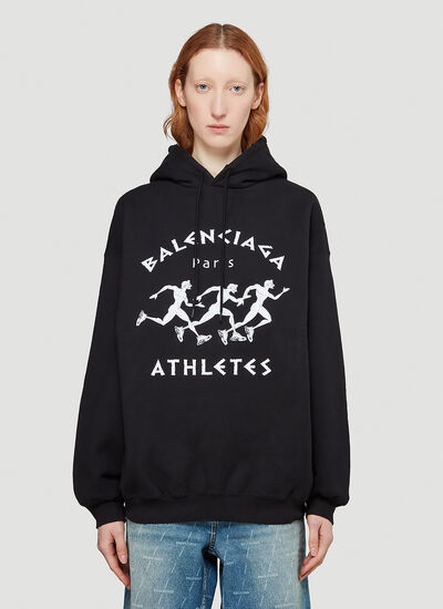 Balenciaga Athletes Hooded Sweatshirt