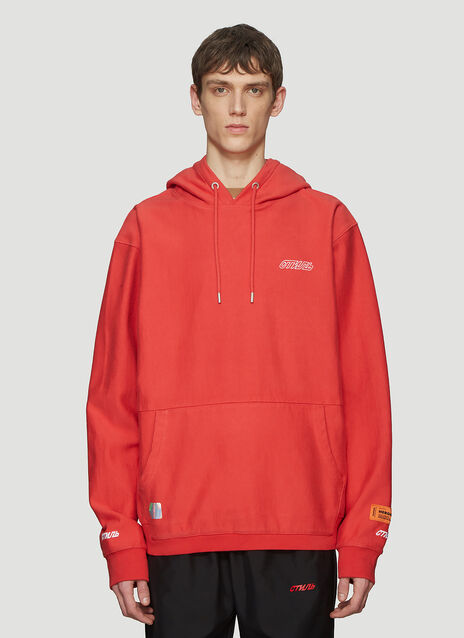 Heron Preston Hooded СТИЛЬ Basic Sweater